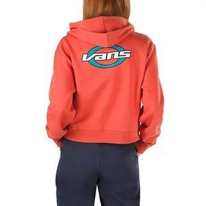 Cropped Vans Kair Ruh orange hoodie M